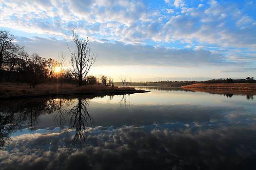 Lake Sunrise by Steve ODonnell