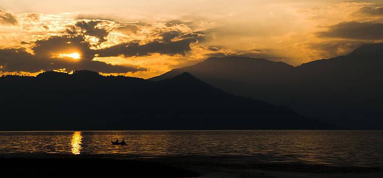 Lake Sunset by Tyler Lucas