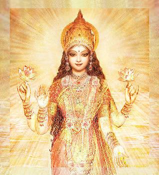 Lakshmi the Goddess of Fortune and Abundance by Ananda Vdovic