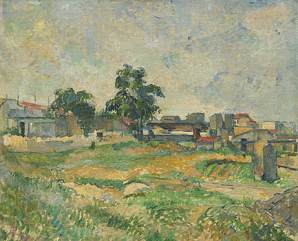 Paul Cezanne - Landscape near Paris