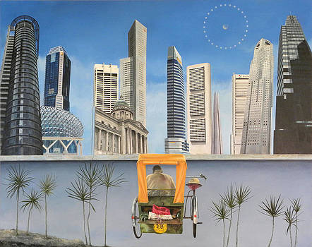 Last Dim Sum in Singapore by Richard Barone