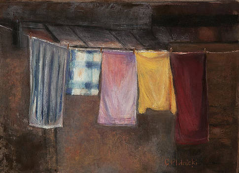 Laundry Day by Cindy Plutnicki