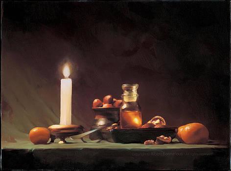 L'automne II by Albert Bonnefous