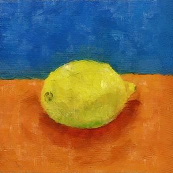 Michelle Calkins - Lemon with Blue and Orange