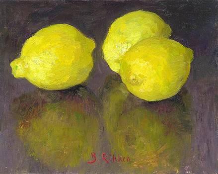 Three Lemons by Ben Rikken