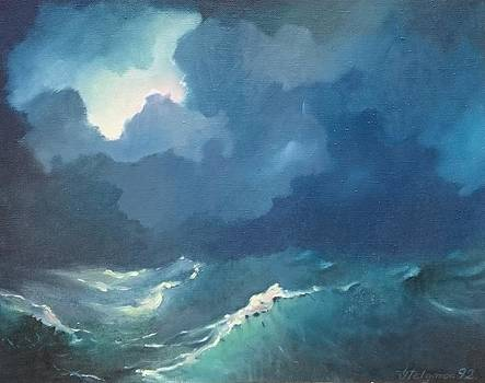 Light in storm by Ylo Telgmaa