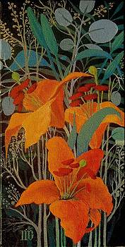 Lilies by Marina Gnetetsky