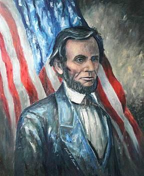 Lincoln Portrait #13 by Daniel W Green