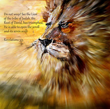 Lion of Judah Courage by Amanda Dinan