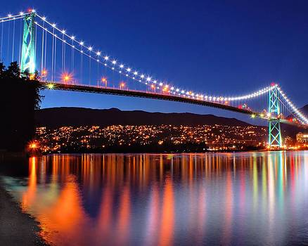 Lions Gate Bridge by David Brown