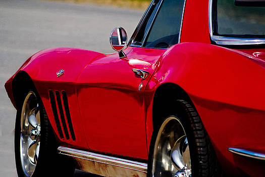 Little Red Corvette by Mamie Thornbrue