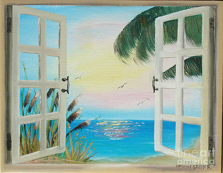 Looking out by Darlene Green