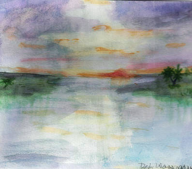 Looking Out To Sea by Debbie Wassmann