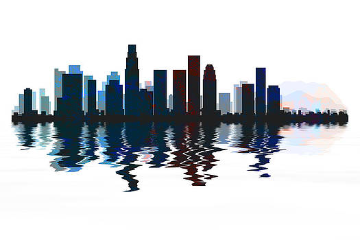 David Pringle - Los Angeles Skyline