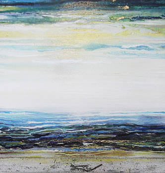 Low Newton beach Rhythms and Textures 3 by Mike   Bell