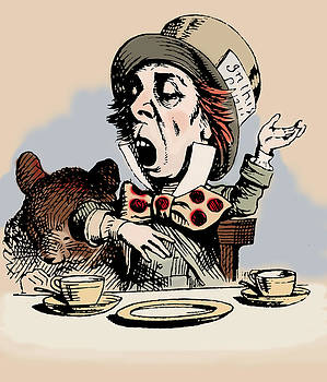 Mad Hatter Color by John Tenniel