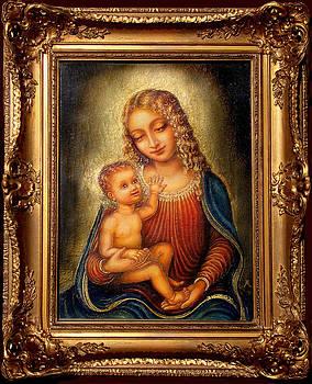 Madonna Beata by Ananda Vdovic