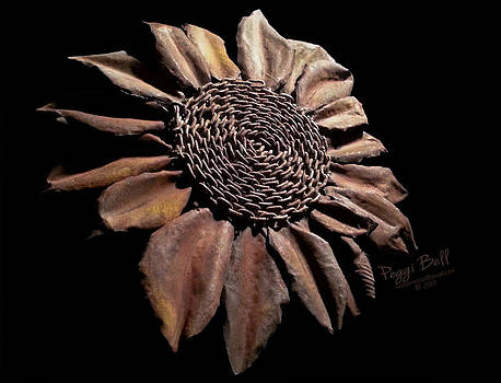 Mailbox Sunflower by Peggi Bell