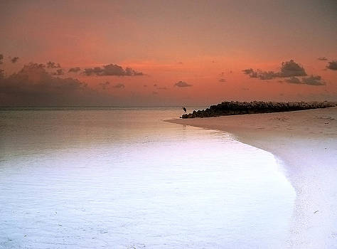 Maldives sunset 02 by Giorgio Darrigo
