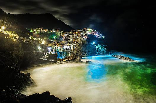 Manarola Italy by Jed Smith