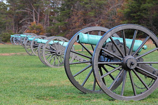 Manassas Battlefield Cannons by Scott Fracasso