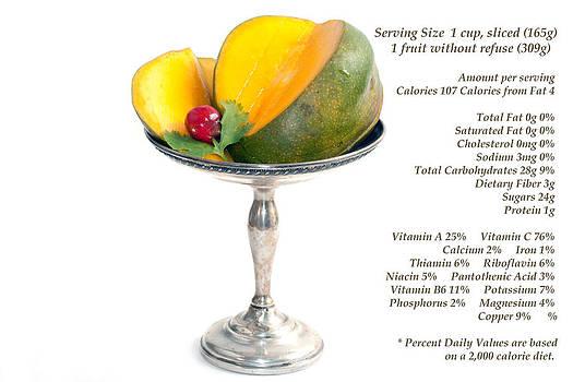Gunter Nezhoda - mango nutrition