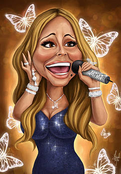 Mariah Carey by Michael Trujillo