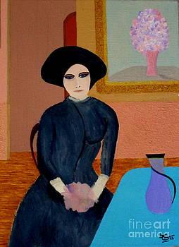 Marianne Waiting by Bill OConnor