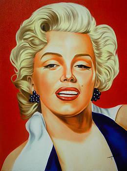 Marilyn Monroe by Hector Monroy