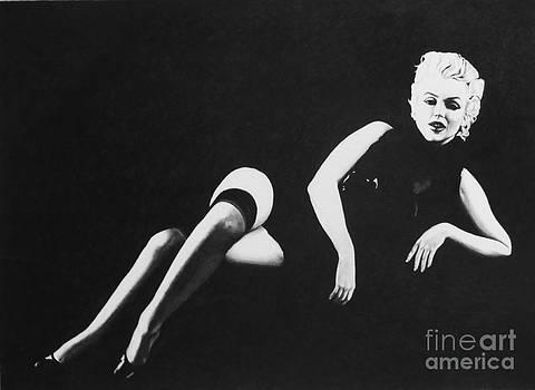 Marilyn Reclining by Joseph Sonday