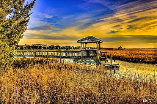 Marsh Sunset by Ed Roberts
