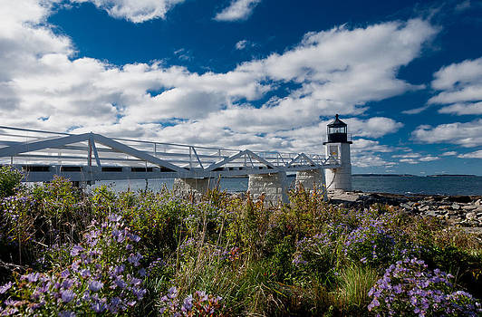 Marshall Point Lighthouse by David Smith