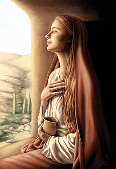Mary Magdalene by Jonathan Weber