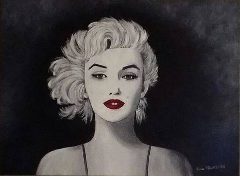 Marylin Monroe by Jessica Fleurentin