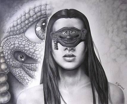 Masked Beauty by Geni Gorani