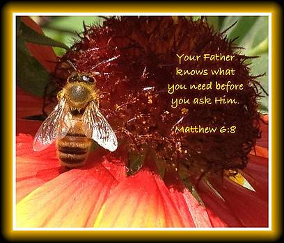 Matthew 6 8 by Scripture Pictures