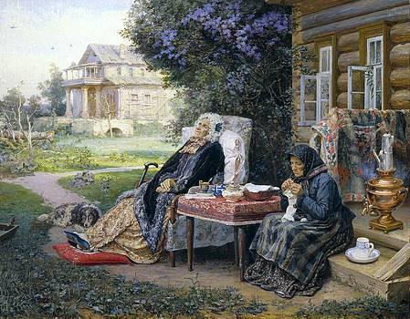 Maximov, Vasili M. 1844-1911 by Everett