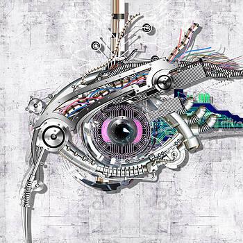 Mechanical eye by Diuno Ashlee
