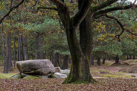 Megalithic tombe by Frits Selier