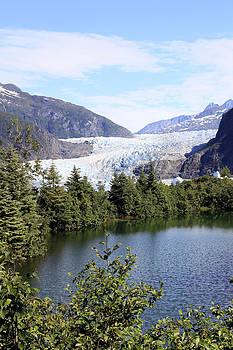 Mendenhall Glacier by Gladys Turner Scheytt