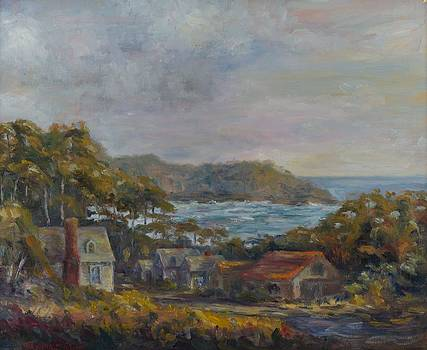 Mendocino Evening by Edward White