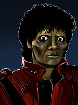 Michael Jackson Thriller by Michael Clarke