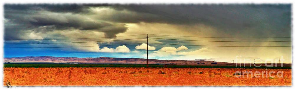 Mid Summers Storm by Van Schipper