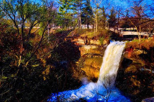 Minnehaha Falls by Saibal Ghosh