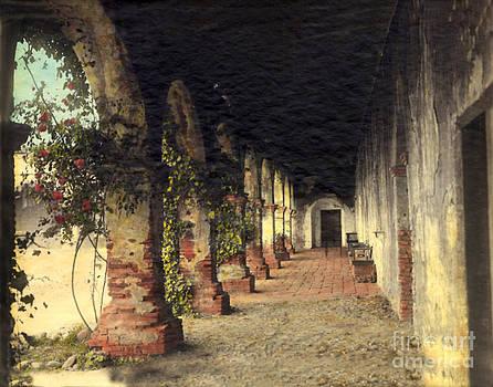California Views Mr Pat Hathaway Archives - Mission Corridor San Juan Capistrano Calif circa 1920