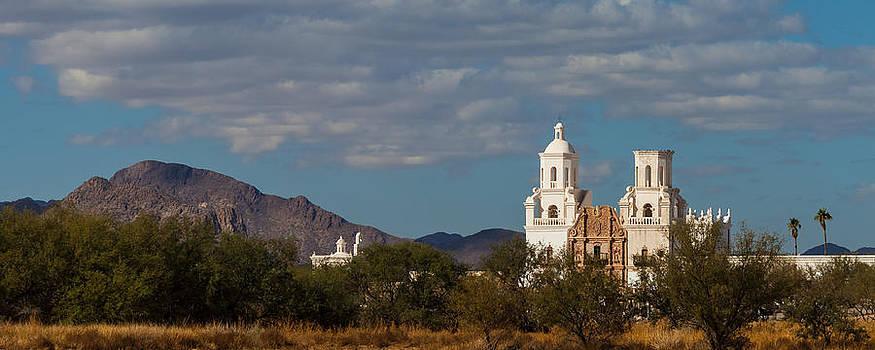Mission San Xavier del Bac by Ed Gleichman