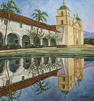 Mission Santa Barbara by Mike Rabe