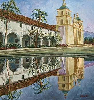 Mission Santa Barbara by Mike Rabe