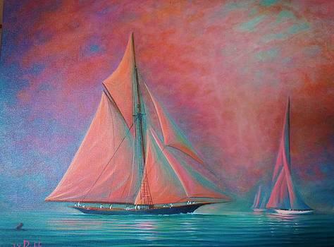Misty Bay by Joseph   Ruff