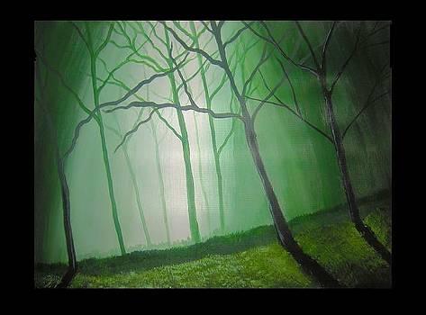 Misty Green by Haleema Nuredeen